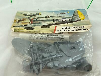 Airfix 1/72 Scale P47D Thunderbolt WW2 Airplane Sealed Model Kit • 2.20£