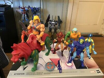 $69 • Buy He Man Origins MASTERS OF THE UNIVERSE Wave 1 Lot Complete Loose  W-Battle Cat