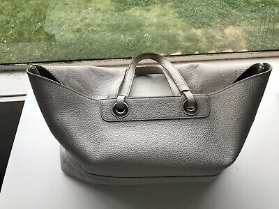 AU15 • Buy Oroton Entourage Leather Bag Pale Grey