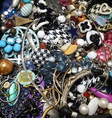 $ CDN19.98 • Buy Vintage Now Unsearched Untested Junk Drawer Jewelry Charm Bead Lot L825
