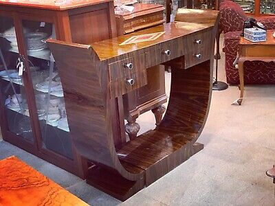 AU695 • Buy Large Art Deco Style U Table / Hall Stand / Console Table