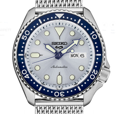 $ CDN348.59 • Buy New SEIKO 5 SRPE77K1 Automatic Full Stainless Steel 42mm 24 Jewels