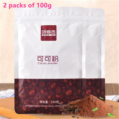 100% Natural 200g Cocoa Powder Chocolate Bean Extract Food Pure Cacao Powder • 8.55£