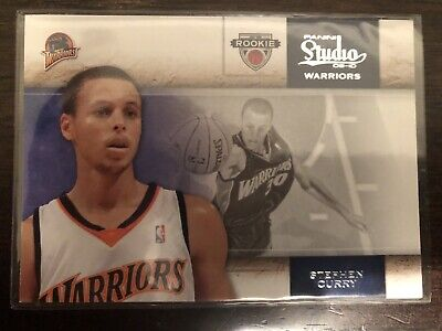 AU80 • Buy 2009-10 Panini Studio Stephen Curry RC