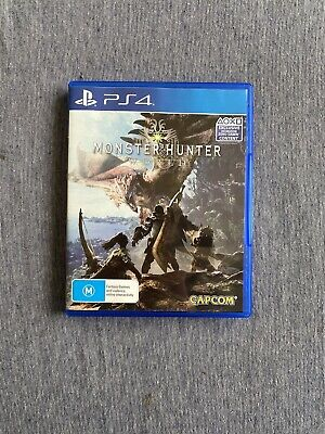 AU10.50 • Buy Monster Hunter: World (Sony PlayStation 4/PS4)