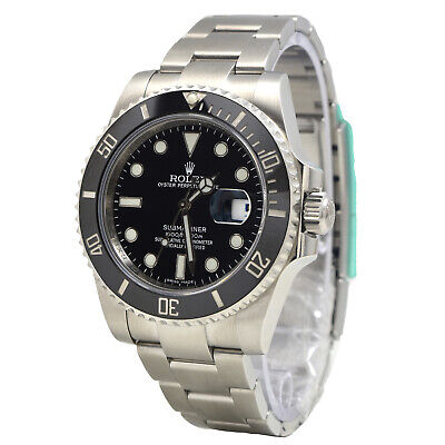 $ CDN15952.56 • Buy Rolex BOX & PAPERS DISCONTINUED Submariner Date 116610LN On Oyster Bracelet
