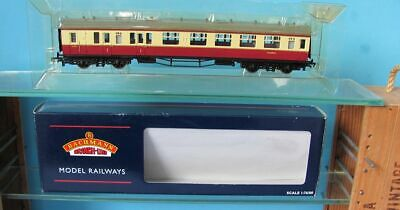 Bachmann Collett 1st/2nd Br Crimson/cream Coach 00 Gauge. • 20£