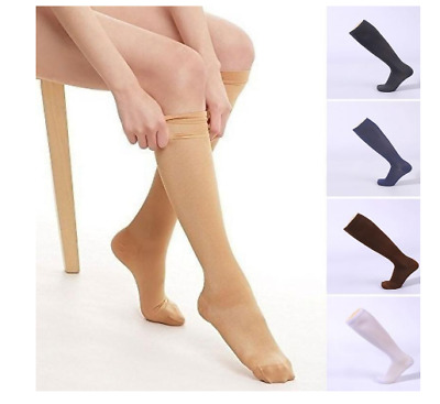 £3.75 • Buy Unisex Compression Socks Anti Swelling & Fatigue Leg Foot Calf Support Stockings