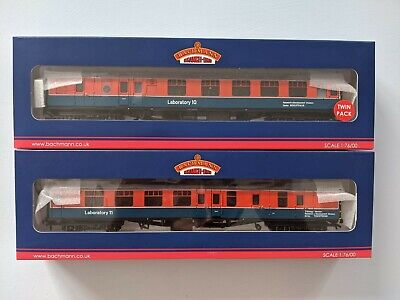 Bachmann 39-001w Mk1 Rtc Coach Twin Pack Lab 10 & 11 Invicta Exclusive Oo Gauge • 199£