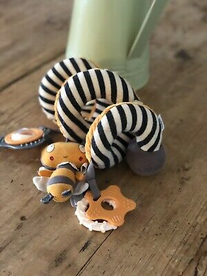 Mamas And Papas Buggy Toy Accessorie Bees Rattle  • 5£