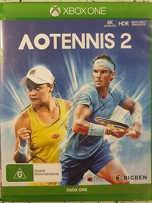 AU64 • Buy AO Tennis 2 Xbox One Game Like New Free Post.