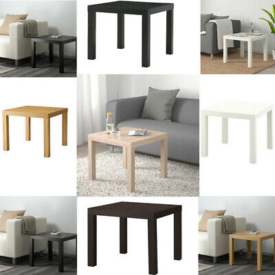 Ikea LACK Side Table Coffee Display Square Table Small Home Office Stylish 55x55 • 22.98£