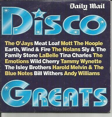 Daily Mail Disco Greats Promo Cd • 1.60£
