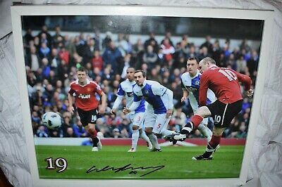 £95 • Buy Wayne Rooney Signed Framed Manchester United Picture With A1 COA