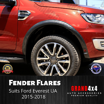 AU239 • Buy Fender Flares Guard Cover Trim Matte Black To Suit Ford Everest UA 2015-2018