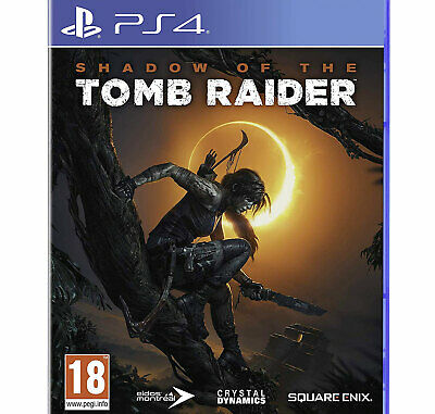 Shadow Of The Tomb Raider PS4 PLAYSTATION Lara Croft New And Sealed • 14.75£