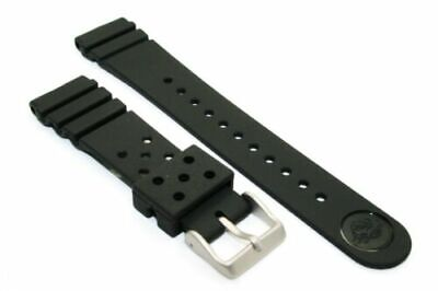 $ CDN44.44 • Buy Seiko Original Rubber Band For Vintage Diver Turtle 6306 -7000 7001 22 Mm Watch