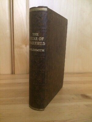OLIVER GOLDSMITH ~ THE VICAR OF WAKEFIELD ~ ODHAMS ~ 1930's • 14£