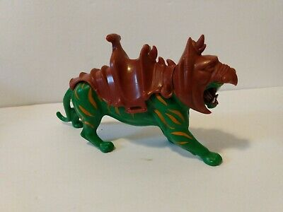 $14.95 • Buy 1981 Masters Of The Universe Vintage Battle Cat W/Saddle & Helmet