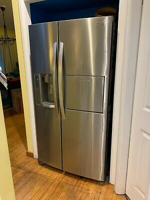 AU132.50 • Buy Fridge,LG, Side By Side, Icemaker