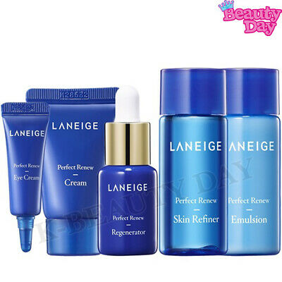 Amore Pacific LANEIGE Perfect Renew Special Kit 5-Items Korean Cosmetics • 9.72£
