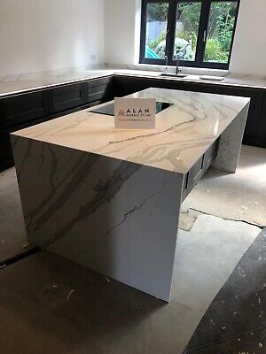 CALACATA River QUARTZ KITCHEN WORKTOP| Affordable Prices |all Colours Available • 0.99£