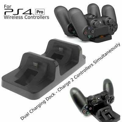 AU9.79 • Buy PS4 Pro Charging Charger Dock Station Stand For Playstation 4 Pro Controller Pad