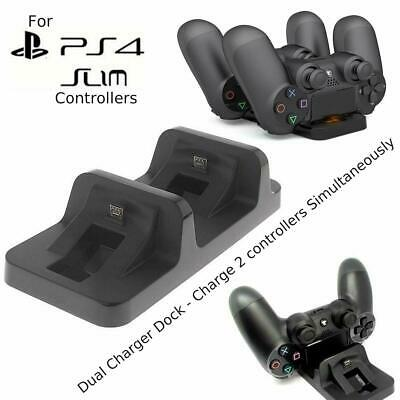 AU9.59 • Buy PS4 SLIM Charging Dock Station Stand For PlayStation 4 Slim Wireless Controller