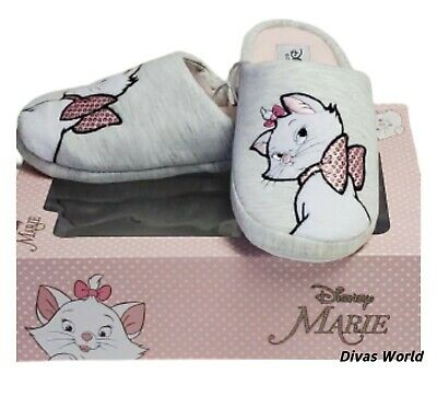 £15.99 • Buy Disney Marie The Aristocats SLIPPERS In A Gift Box Ladies Soft Mules Primark