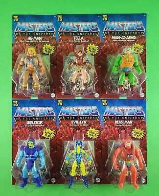 $104.01 • Buy Masters Of The Universe Origins (motu) Wave 1 (6 Figure Set) Unpunched Ultra Hot
