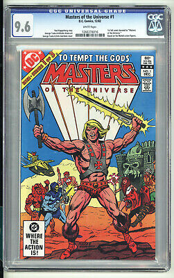 $99.99 • Buy Masters Of The Universe 1 - Bronze Age Classic - Hot Book - CGC 9.6 White