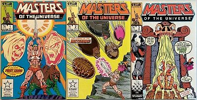 $35 • Buy Masters Of The Universe #1-3 (Star 1986).