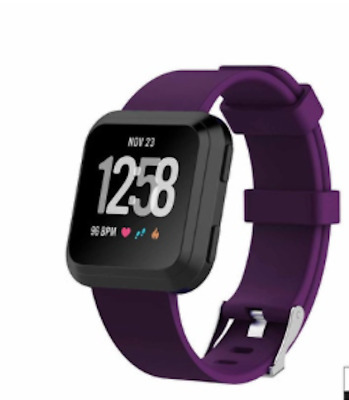 $ CDN10.66 • Buy Fit Bit Blaze Watch Replacement Band & Frame Large Purple Unbranded New