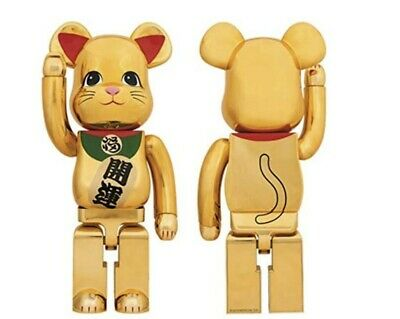 $2999.99 • Buy Manekineko Lucky Cat Bearbrick 1000% Ver.3 Be@rbrick Beckoning Gold US SHIPPER