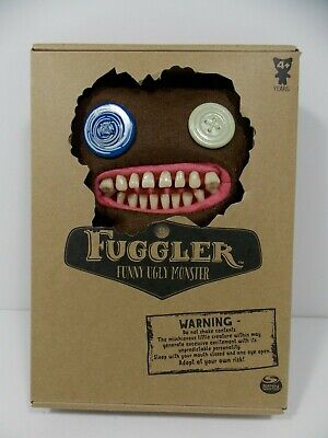 "$ CDN30.87 • Buy RARE Fuggler Funny Ugly Monster 9"" Mr.Buttons Brown Series 1 - NEW"
