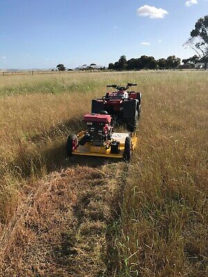 AU6300 • Buy TOW 'N' MOW SLASHERS Mower ATV Quad Bike Slasher Tractor KAWASAKI 18HP ENGINE