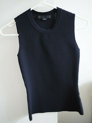 AU20 • Buy Alexander Wang Black Sleeveless Top - Size XS - Pre-owned