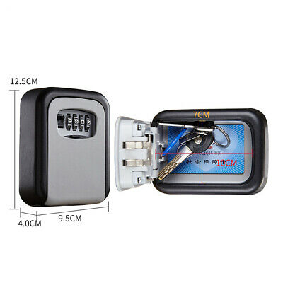 Waterproof Key Lock Box Key Safe Case For Home, Office Realtors Security Boxes • 15.08£