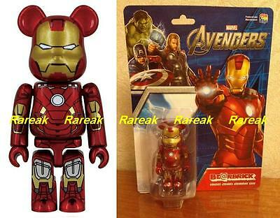 $289.99 • Buy Be@rbrick Marvel Avengers Assmable Iron Man 100% Mark VII Ironman 7 Bearbrick
