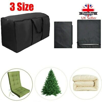 Extra Large Waterproof Storage Bag Outdoor Furniture Cushions Christmas Tree Toy • 9.59£