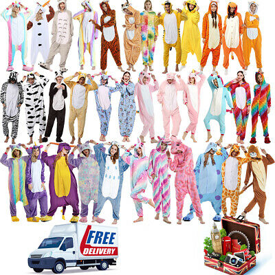 Unisex Adult Animal Onsie88Onesie12 Anime Cosplay Pyjama Kigurumi Fancy UK Dress • 14.98£