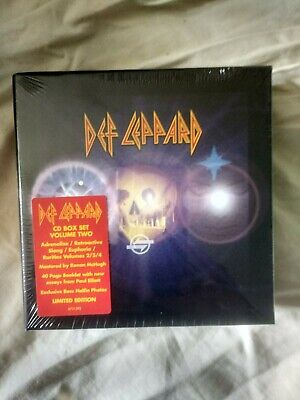 Def Leppard Volume Two Cd  Collection Box Set New & Sealed • 99.99£