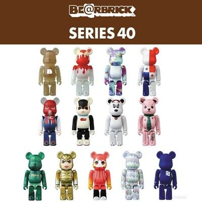 $9.99 • Buy Series 40 S40 Bearbrick 1pc Blind Box 100% Be@rbrick Medicom Toy Japan