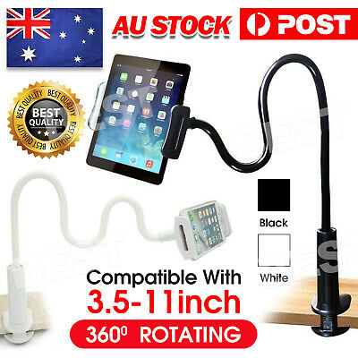 AU12.95 • Buy 360°Rotating Tablet Stand Holder Lazy Bed Desk Mount For IPad Air IPhone Samsung