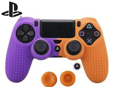 AU14.95 • Buy Super Grip Silicone Sony Play Station 4 Dual-shock PS4 Pro Slim Controller Skin!