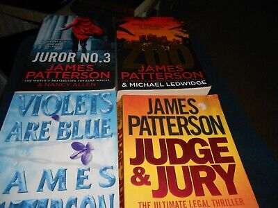 AU52 • Buy 7 X  JAMES PATTERSON - LARGE BOOKS Free Postage