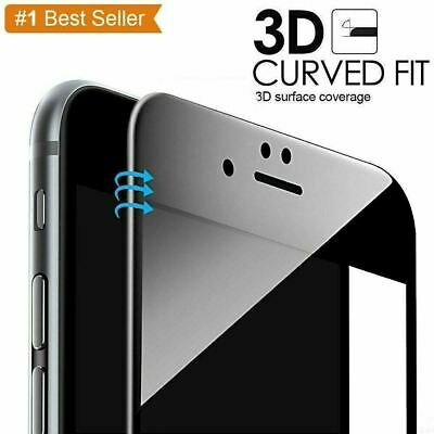 3D Full Cover Tempered Glass Screen Protector Film For IPhone 6 6S 7 8 7 8 PLUS • 1.99£