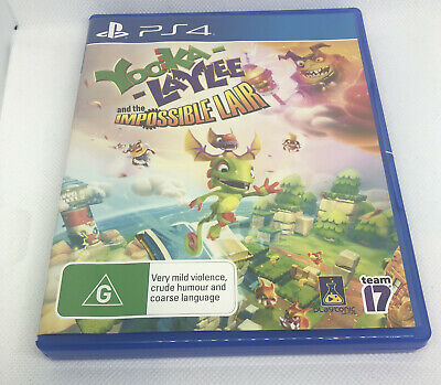 AU34.50 • Buy Yooka Laylee And The Impossible Lair Sony PS4 PAL AUS Release