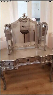 Dressing Table Set Vanity Table Extremely Good Quality With Mirror • 95£