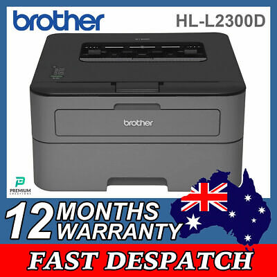AU158 • Buy Brother Mono Laser Printer With Duplex 26ppm, 2 Sided Printing, Usb2 Hl-l2300d